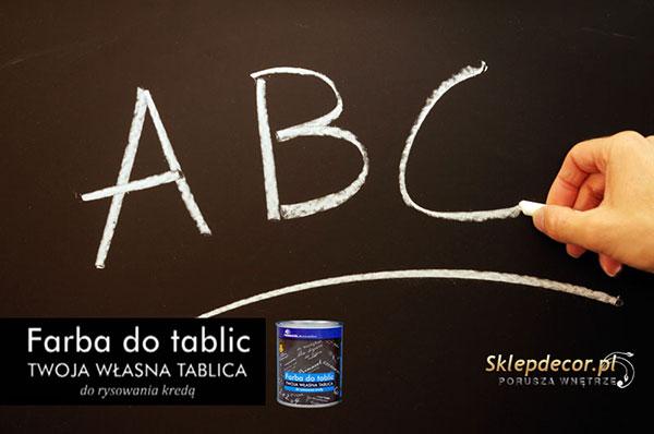Боя за черна дъска Farba do tablic 2